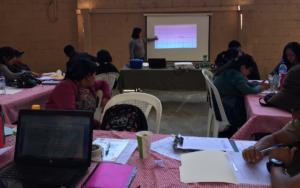 Planificación de actividades para realizar réplicas del diplomado a capacitadores de salud de 5 municipios de Sololá