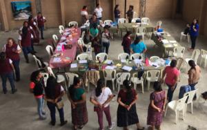 Inauguración de Diplomado de primera infancia para maestras de educación preprimaria en Panajachel, Sololá