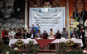 Exitoso foro con candidatos a la alcaldía de Santa María Visitación, Sololá