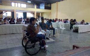 «Niñez y población con discapacidad», el conversatorio con candidatos a las diputaciones del distrito de Chimaltenango