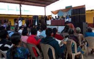 Exitoso foro político con candidatos a la alcaldía en San Martín Jilotepeque, Chimaltenango