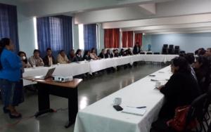 Socialización del ASDN y validación del proyecto «Entre Amigos Construimos Ciudadanía Política 2019-2021»