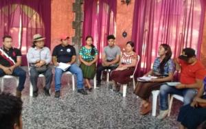 Organizaciones de niñez, adolescencia y juventud participan en reunión bilateral con el alcalde electo en Santiago Atitlán, Sololá