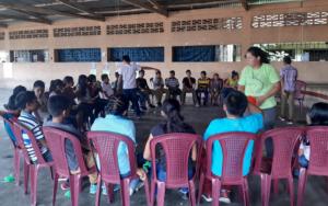 Niñez y juventud participaron activamente en clausura de diplomado de derechos sexuales y reproductivos, en San Pablo Jocopilas, Suchitepéquez