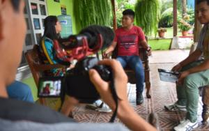Redes Juveniles de Samayac y San Pablo Jocopilas participan en taller de producción audiovisual y creación de cortometrajes