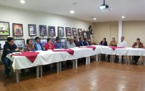 Adolescentes y jóvenes de NIV NAUC participan en reunión con autoridades locales en Santa María Visitación, Sololá