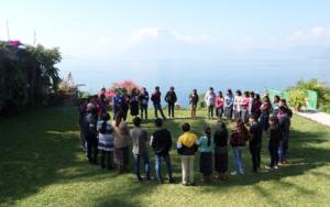 Adolescentes y jóvenes construyendo ciudadanía, encuentro departamental de adolescentes y jóvenes de Sololá y Suchitepéquez
