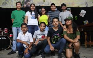 Niñez, adolescencia y juventud organizada de San Pablo Jocopilas, Suchitepéquez, conmemora el 30 aniversario de la Convención sobre los Derechos del Niño