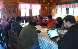 Primera asamblea de la Mesa de Municipalización en Tecpán, Chimaltenango