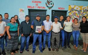 Red Juvenil Metamorfosis participó y coordinó reunión con autoridades municipales electas, en San Pablo Jocopilas