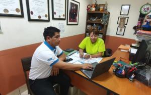 Presentación del proyecto Más Derechos Menos Discriminación a diputada representante de Baja Verapaz