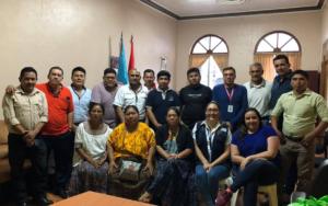 Presentación del proyecto Más Derechos Menos Discriminación al Concejo Municipal de San Pedro Carchá, Alta Verapaz