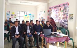 PAMI se integra a la coordinadora institucional de Cantel, Quetzaltenango, que promueve los derechos de la niñez y adolescencia