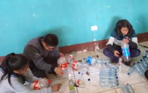 Integrantes de la Red Juvenil NIV NAUC, realizan reunión de trabajo con proyección comunitaria, en Santa Catarina Ixtahuacán, Sololá