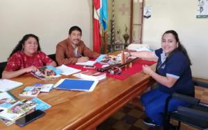 Presentación del proyecto Más Derechos Menos Discriminación a autoridades  municipales de Santa Catarina Palopó y San Lucas Tolimán