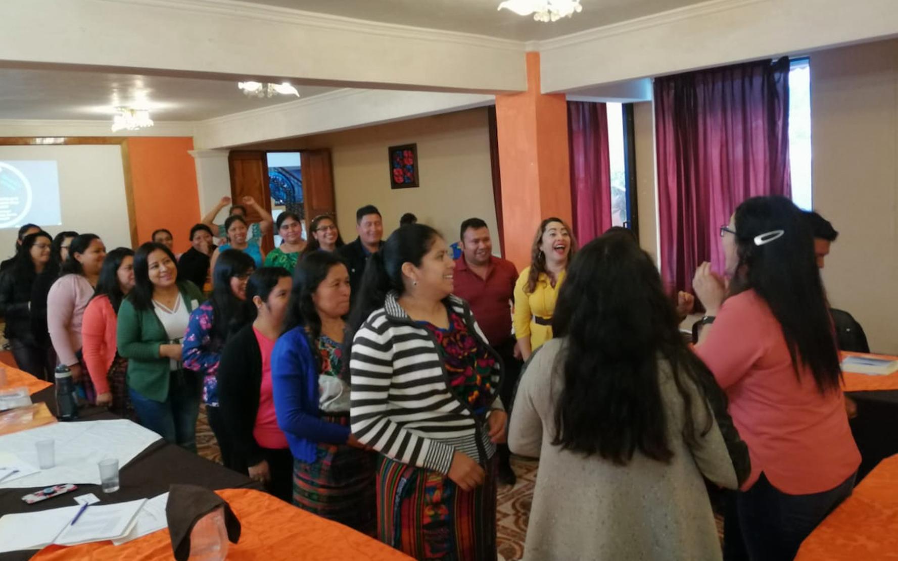 Maestras de preprimaria participan en segundo módulo de Diplomado de Primera Infancia