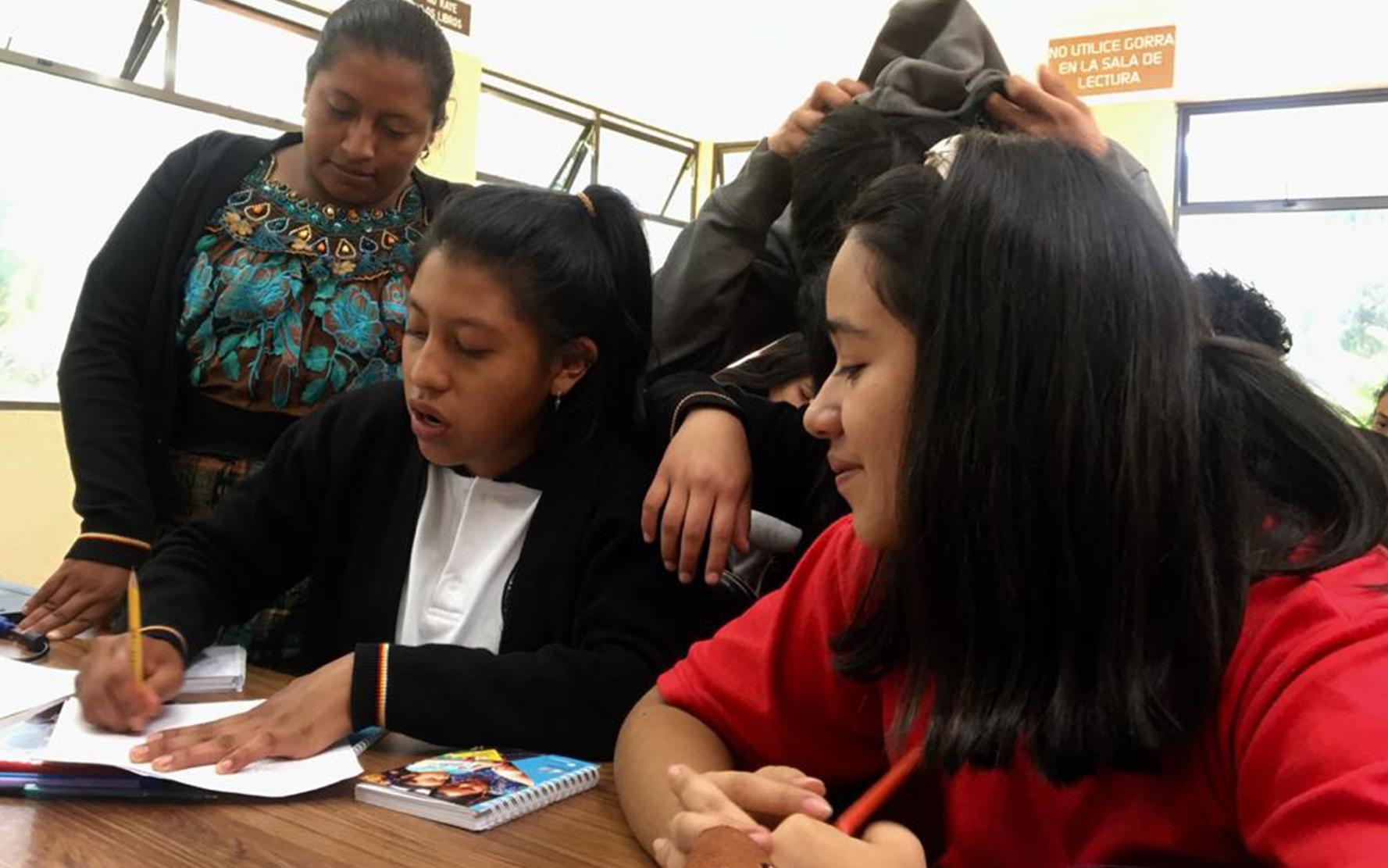 Constitución del Movimiento de Jóvenes Superando el Silencio en San Martín Jilotepeque