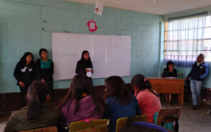 Integrantes de la Red NIV NAUC visitan el instituto por cooperativa de Santa Catarina Ixtahuacán, Sololá