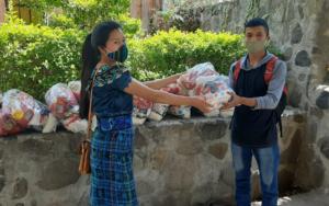 PAMI apoya a adolescentes y jóvenes de Sololá, ante la crisis del COVID-19