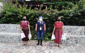 PAMI realiza segunda entrega de insumos a madres guía y comunitarias en Santa Cruz La Laguna, Sololá