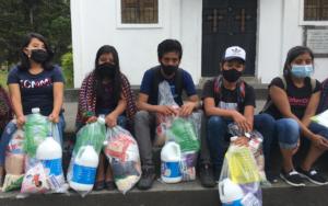 PAMI hace segunda entrega de insumos alimenticios y de higiene a organización de jóvenes y adolescentes Cambio Atitlán Tolimán