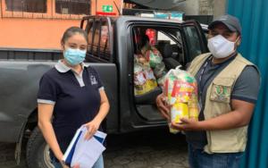 CDI Semilla dona kits nutricionales a la SESAN, para niños de San Antonio Palopó