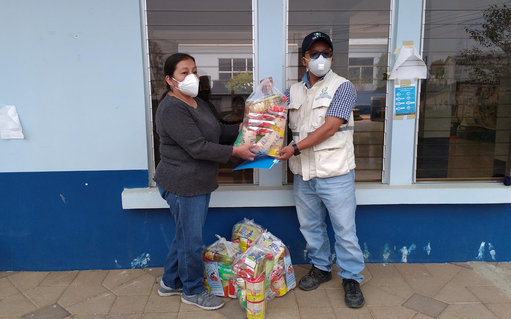 PAMI entrega insumos de nutrición en 8 municipios de Sololá, para beneficio de niñas y niños de primera infancia