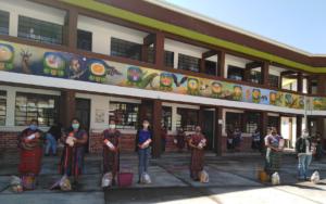 PAMI realiza cuarta entrega de bolsas de alimentos para madres del Programa de Primera Infancia, en San Andrés Semetabaj