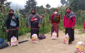 PAMI realiza tercera entrega de kits nutricionales en Santa María Visitación, Nahualá y Santa Catarina Ixtahuacán, Sololá