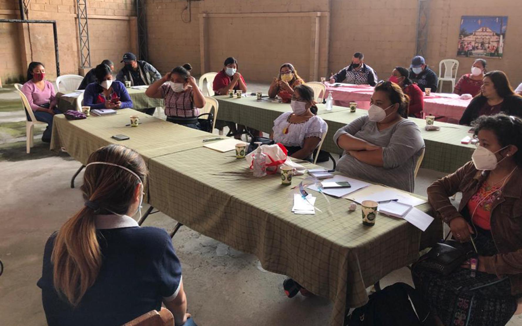 CDI Semilla/PAMI impulsa procesos de incidencia política para primera infancia con cogarantes, en Panajachel, Sololá