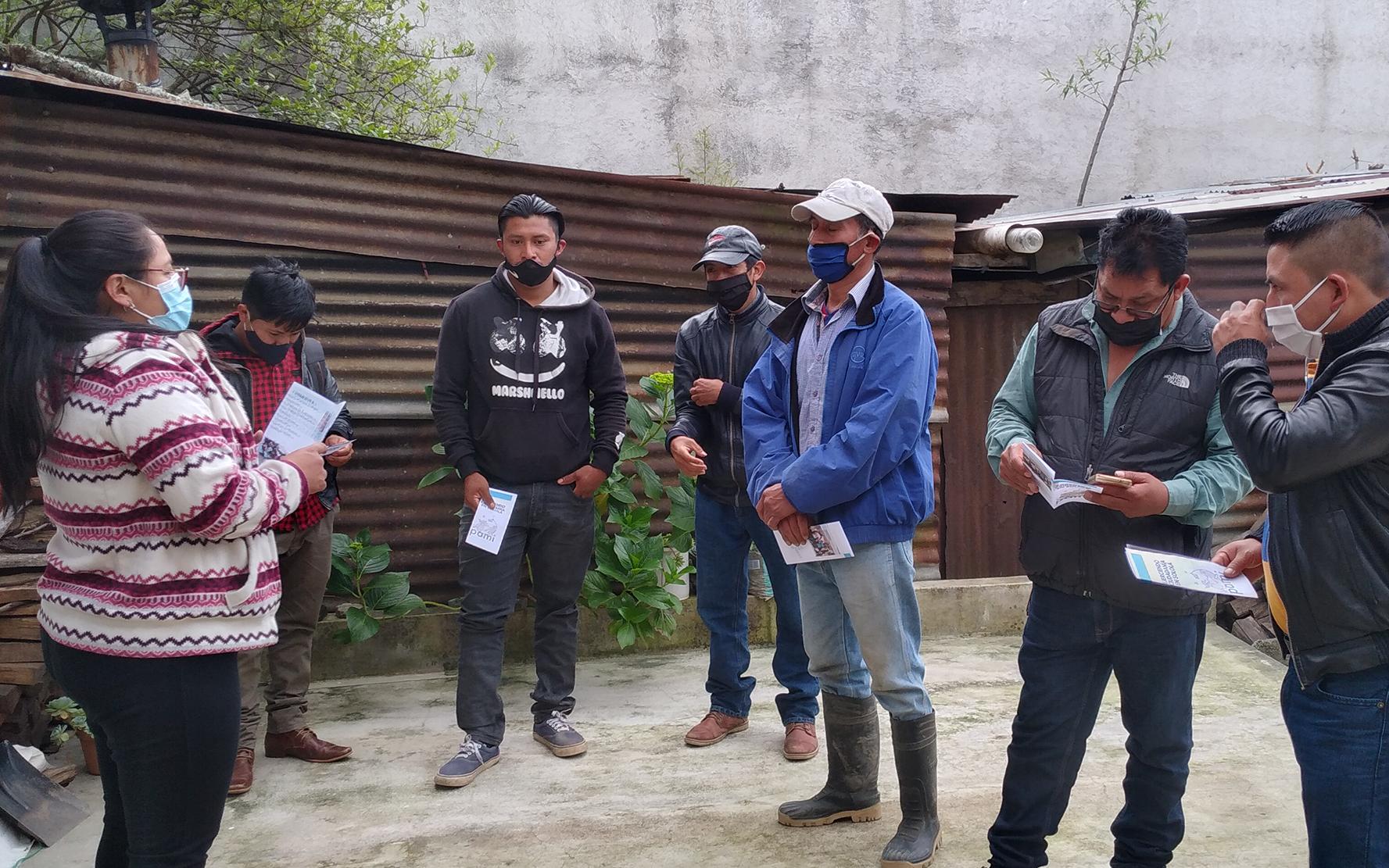 Apoyo con ayuda humanitaria a COCODES, en tres municipios de Sololá