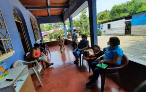Red Juvenil y mujeres organizadas socializan el proyecto S.O.S. por los Derechos de la Niñez y Adolescencia, en San Francisco Zapotitlán