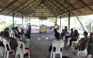 Madres guía participan en proceso de formación para fortalecer el desarrollo integral de la primera infancia, en Santa Catarina Ixtahuacán, Sololá