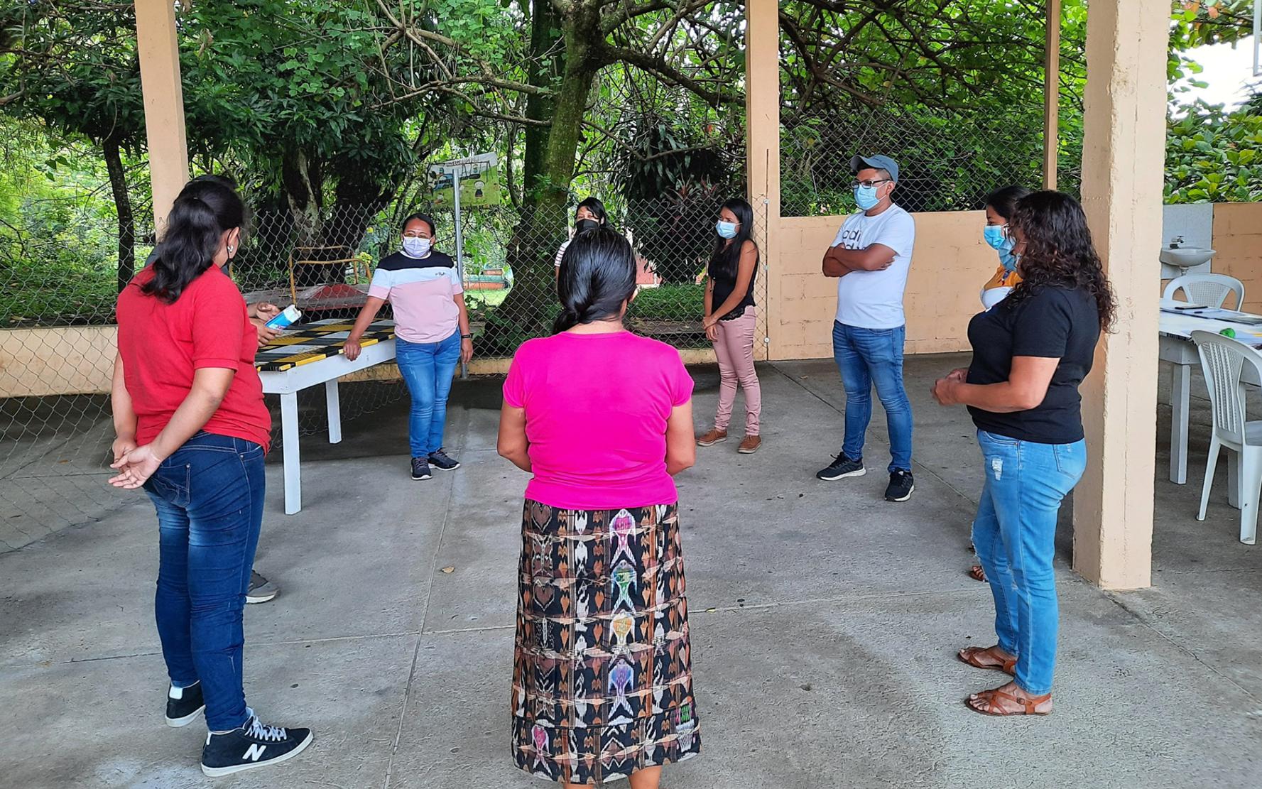 Red Juvenil Metamorfosis participa en reunión sobre organización e incidencia en proceso de auditoría social, en San Pablo Jocopilas, Suchitepéquez