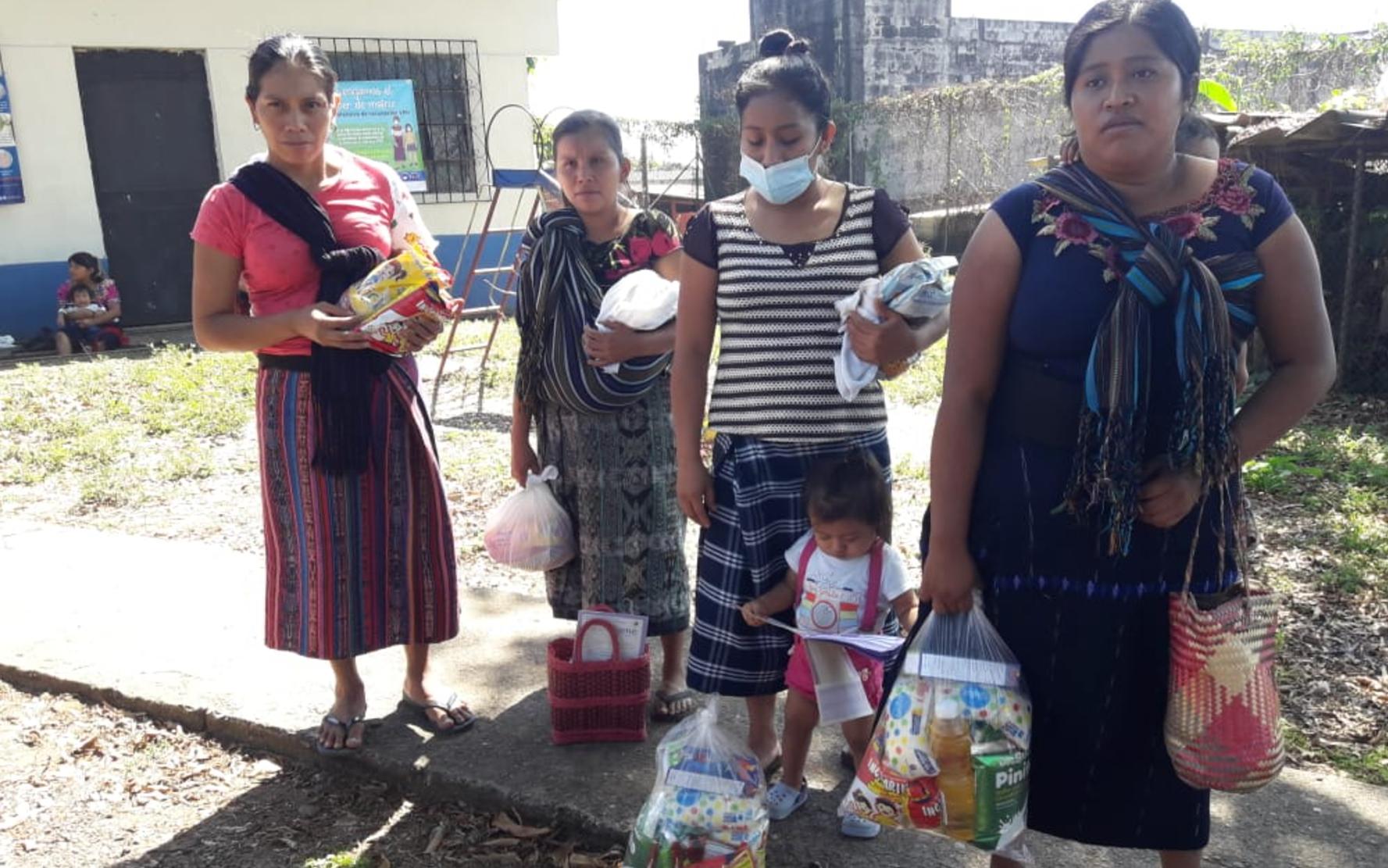 PAMI entrega kits nutricionales a niñez de Primera Infancia en comunidades de Santa Catarina Ixtahuacán, Sololá