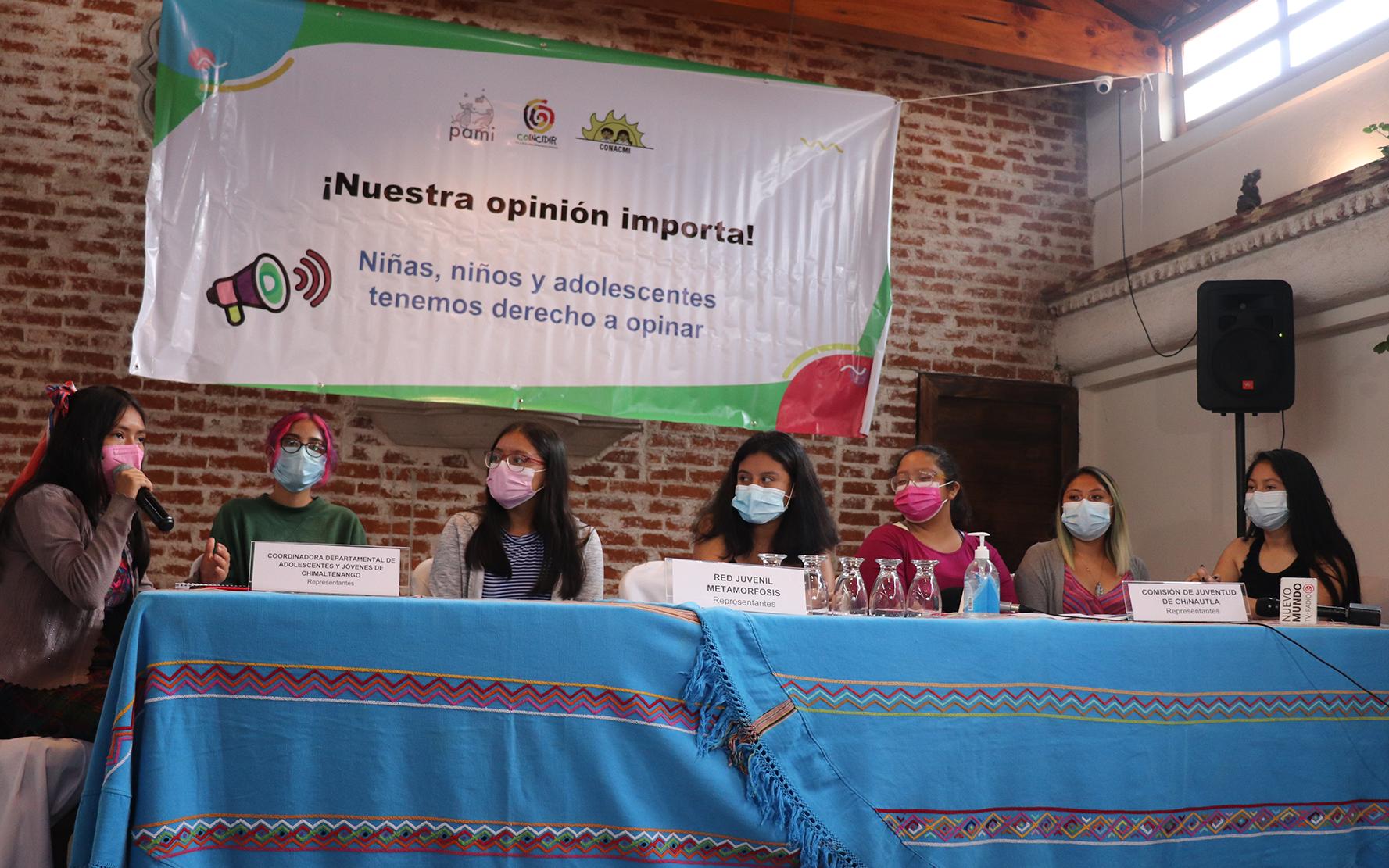 En el Día Mundial de la Población, adolescentes mujeres organizadas hacen valer su lema #NuestraOpiniónImporta