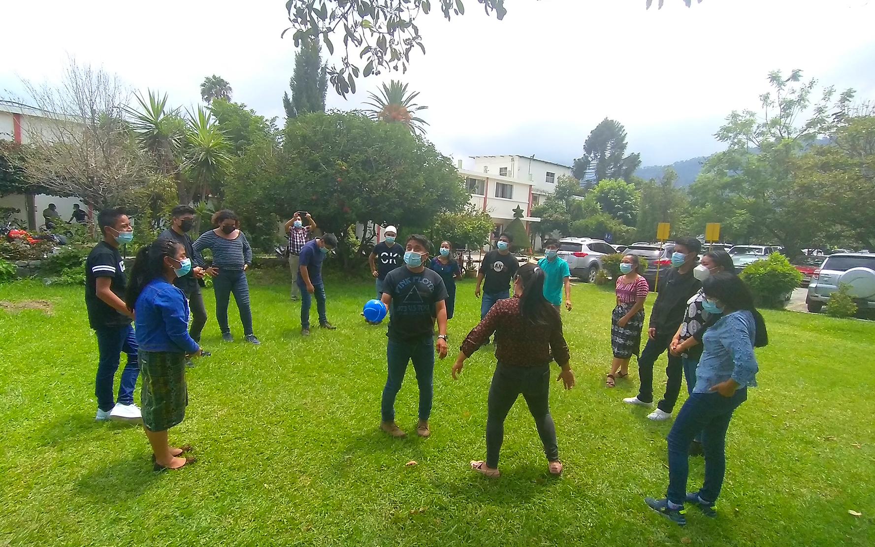 Organizaciones municipales de niñez, adolescencia y juventud, realizan procesos para articularse a nivel departamental, en Sololá