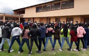Jornadas de capacitación para acción organizada y protagónica de adolescentes y jóvenes en espacios de decisión, en siete municipios de Quetzaltenango