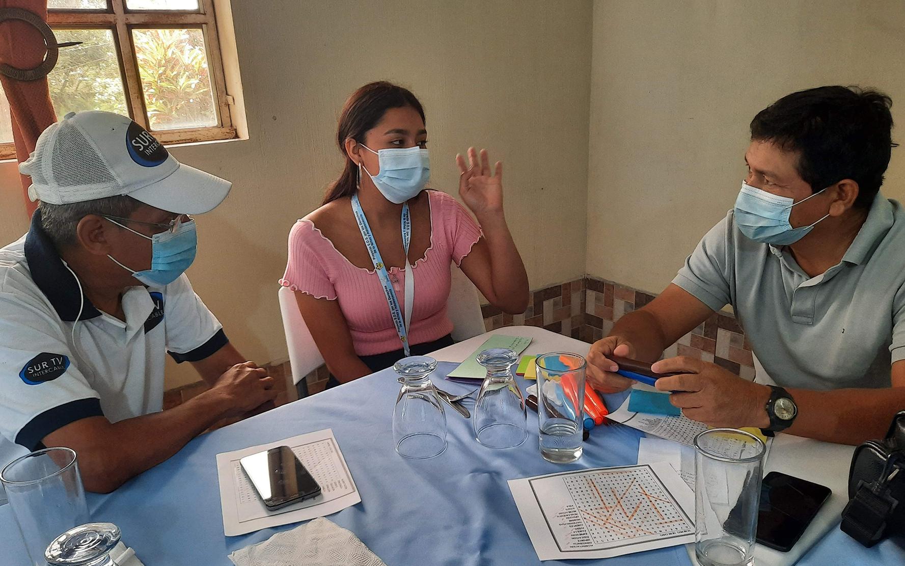 «Nuestra voz importa», tercer seminario para periodistas sobre niñez y adolescencia, en Samayac, Suchitepéquez