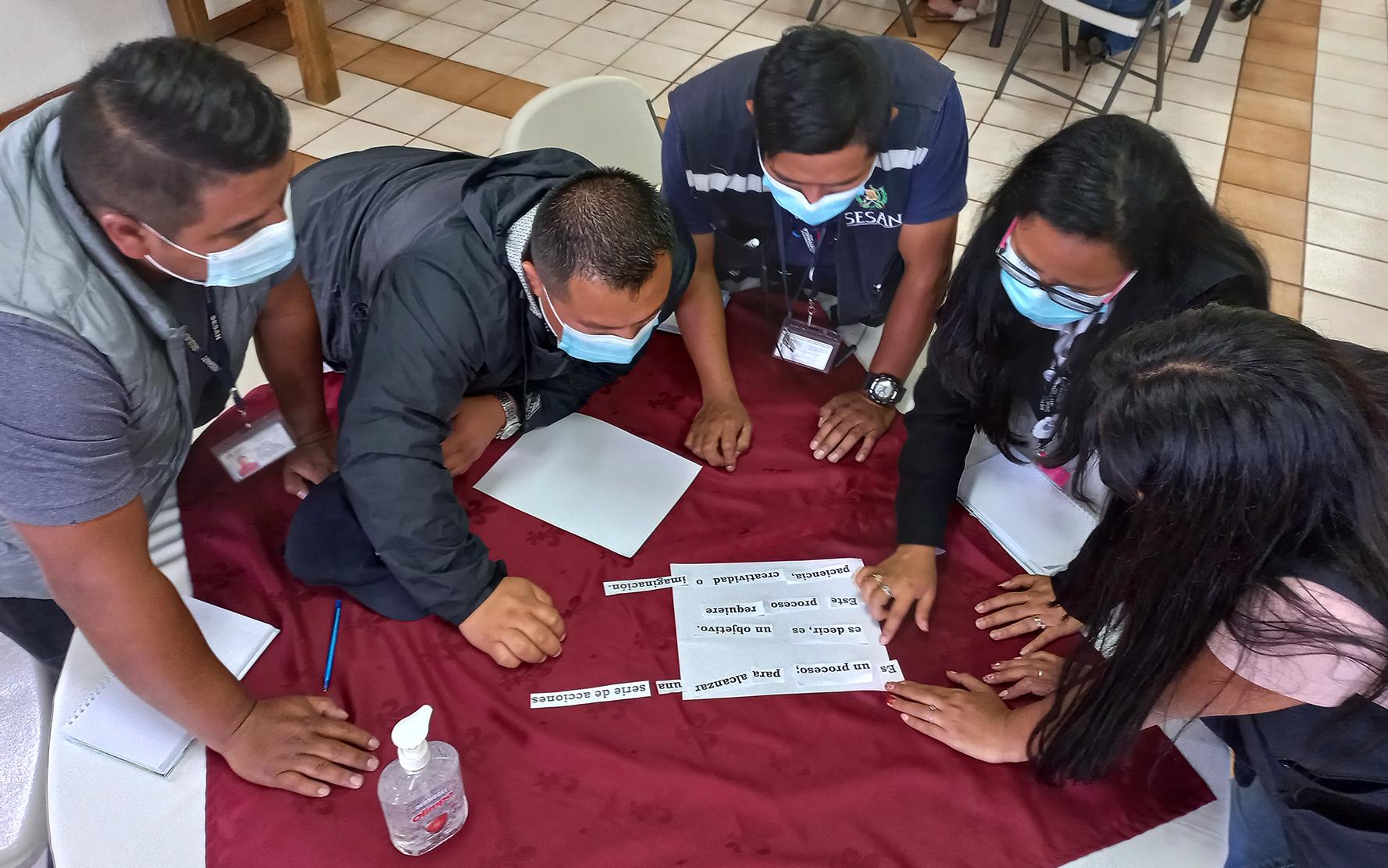 PAMI realiza el quinto taller del diplomado para una calidad de inversión en la niñez y adolescencia, en Sololá
